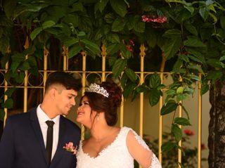 O casamento de Raiane e Wesley