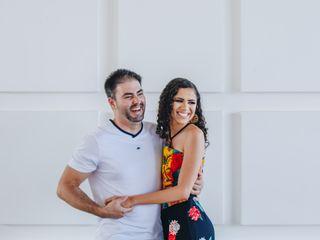 O casamento de Grazielle e Wallas 1