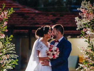 O casamento de Grazielle e Wallas