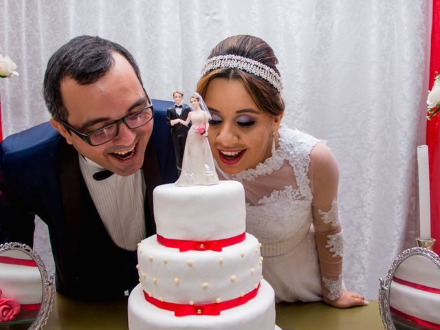 O casamento de Carla e Savio