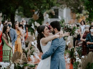 O casamento de Sara e Robert
