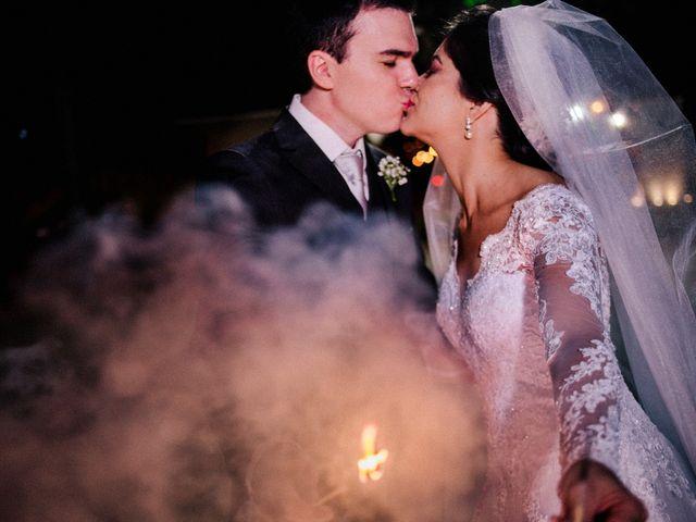 O casamento de Kalyane e Renato
