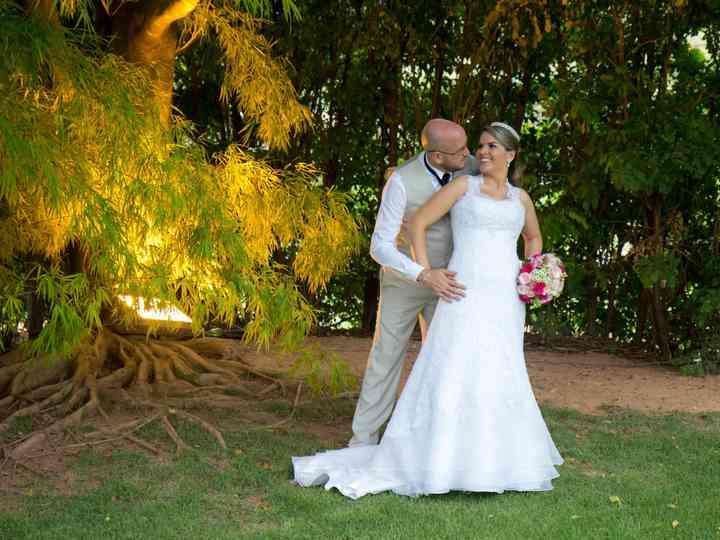 O casamento de Rafaela e Michael