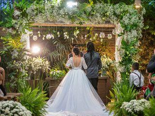 O casamento de Kenia e Gabriel