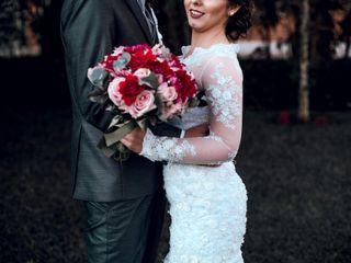 O casamento de Bianca e Junior