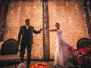 O casamento de Camila e Thales