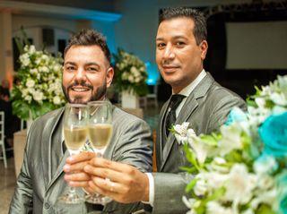 O casamento de Carlos e Junior