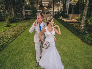 O casamento de Camila e Winicyus