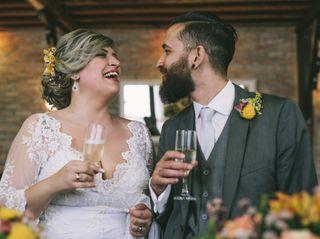 O casamento de Mônica e Dan