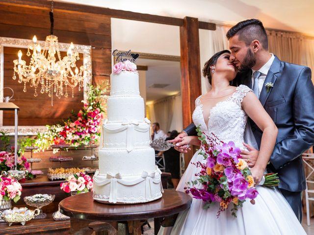 O casamento de Camila e Osmair