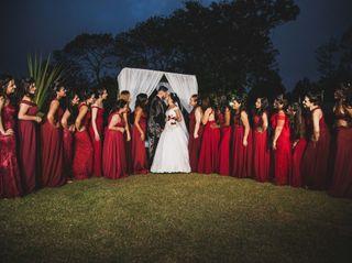 O casamento de Izabela e Wektor 3