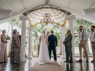O casamento de katia mazzo e wenis bonilha