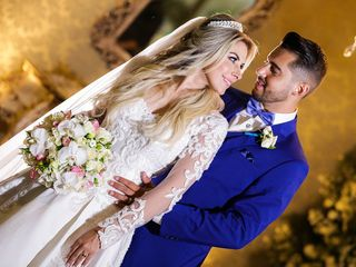 O casamento de Camila e Lukas