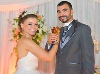 O casamento de Milla e Roger