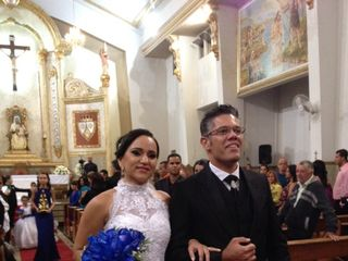 O casamento de Stéfani e Sidnei