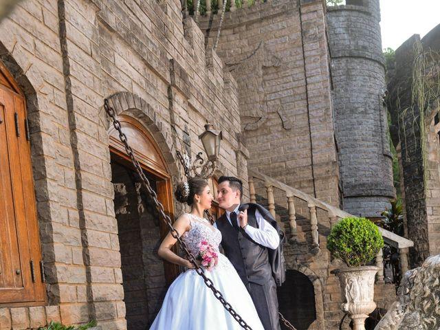 O casamento de Janine e André