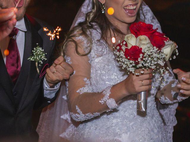 O casamento de Milena e Argel