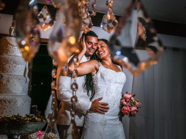 O casamento de Andréa e Leonardo