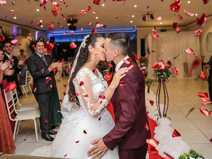 O casamento de Mirian e Tiago