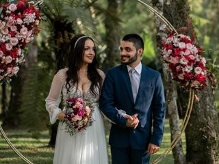 O casamento de Amanda  e Dhonny