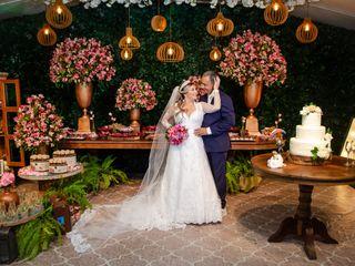 O casamento de Alyne e Carlos