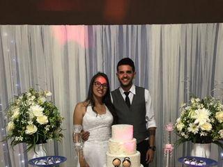 O casamento de Talita e Júnior