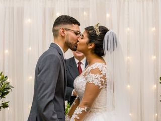 O casamento de Renata e João