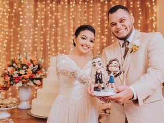 O casamento de Cleudine e Gustavo