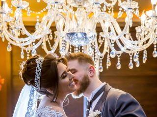 O casamento de Aline e Andrei