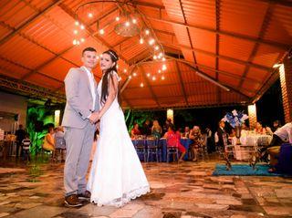 O casamento de Antonio e Evlyn