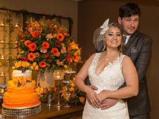 O casamento de Waleria e Bruno