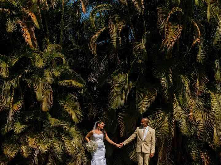 O casamento de Michele e Pedro