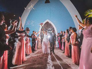 O casamento de Gisele e Fabio