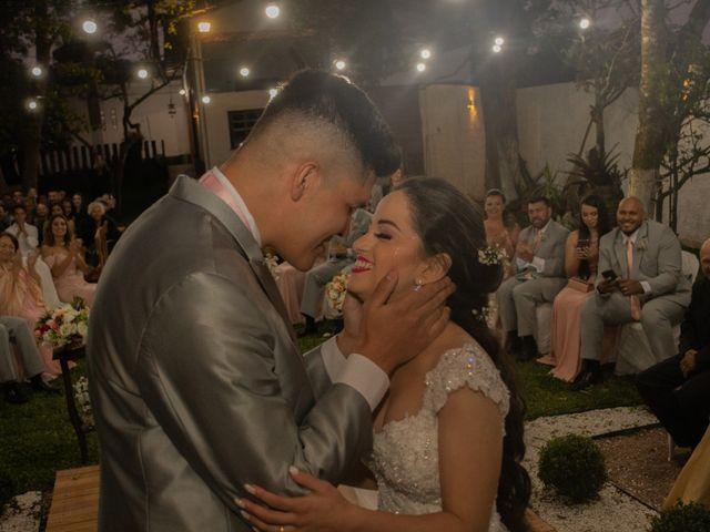 O casamento de Milena e Luciano