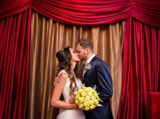 O casamento de Priscylla e André