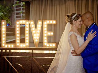 O casamento de Denise e Marcus