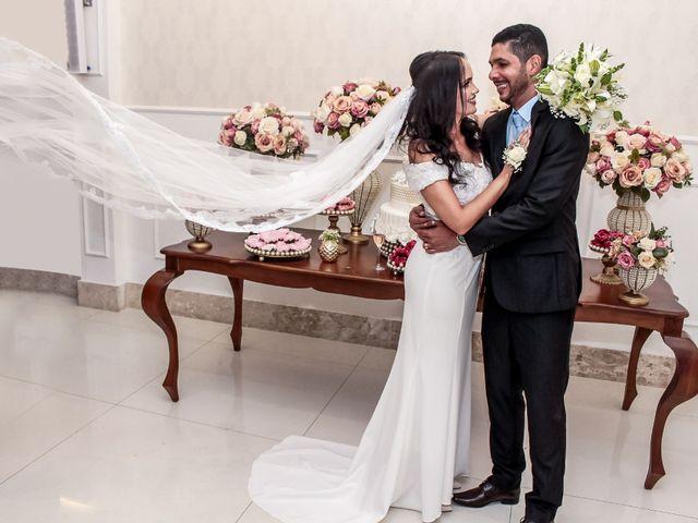 O casamento de Vivian e Jorge