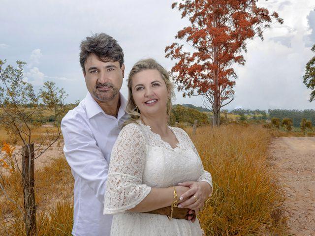O casamento de Luciana e Ronnie