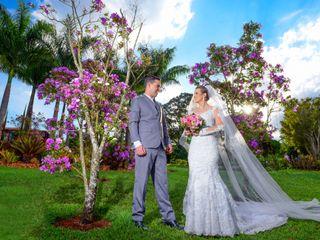 O casamento de Libéria e Alex