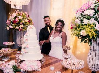 O casamento de Luciana e Celso
