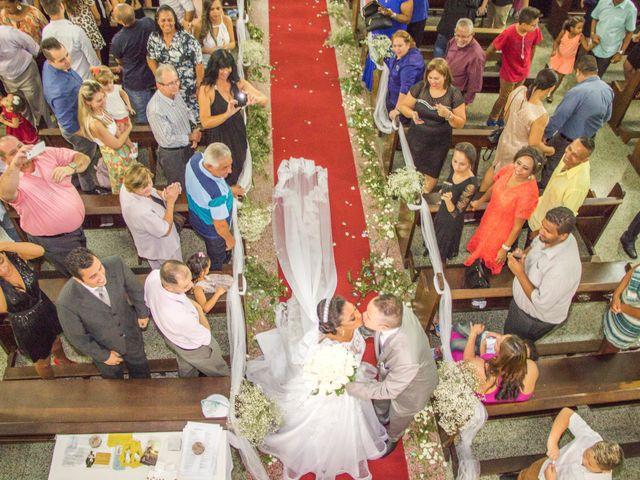 O casamento de Adriane e João