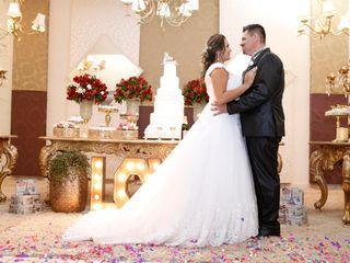 O casamento de Glaucia e Dhiosley
