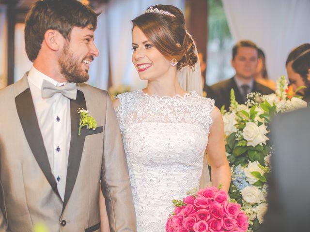 O casamento de Alana e Gian