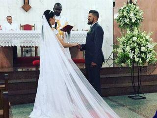 O casamento de Aneliza e Helcio