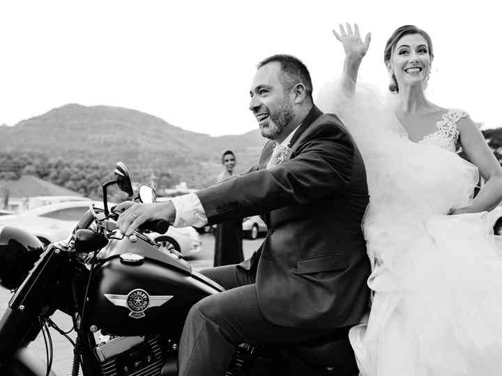 O casamento de Aline e Marcos