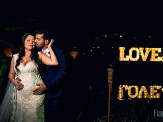 O casamento de Tamara e Junior