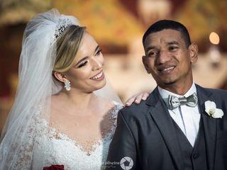 O casamento de Camila e Maurício