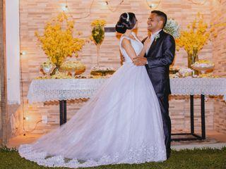 O casamento de Thalya e Werberth