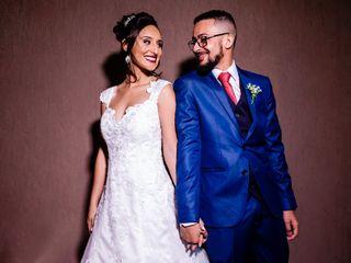O casamento de Barone e Thaina