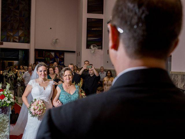 O casamento de Aline e Silvio